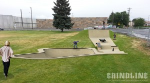 skate park Union_Gap_ground_view
